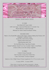 HH Mothers Day Lunch 2020