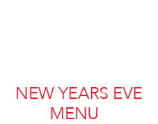 New Year Eve Menu